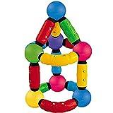 LXWM 77PCS Magnetic Stick Set Magnetic Puzzle Games Toy Magnetic Construction Children's Toys