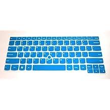 Leze Silicone Keyboard Protector Skin Cover for IBM Lenovo ThinkPad X230, X230T, E430, E435, E440, E445, T430, T430s, T430u, T430c, T431s, T440, T440s, T440p, T530, L440, W530, L530 - Semi Blue