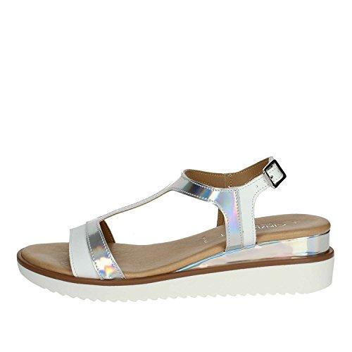 Silver PF1670 002 Soft White Women Sandal Cinzia WTq6Y5wR6