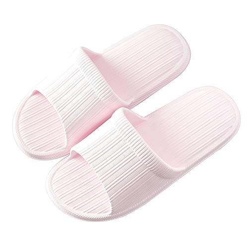 Fondo colore Coppia Coperta Estate Antiscivolo Casa Ciabatte Da Sandali Home Lixizhong Pink E Bagno Spesso Pink Morbido Pantofole ZYwdq44C