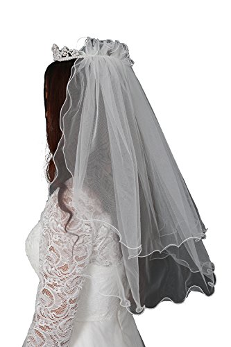 Ivory First Communion Veil - 6