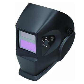Jazooli de soldar lente casco máscara de soldador Gas Arc Mig Tig funciona con energía Solar: Amazon.es: Bricolaje y herramientas