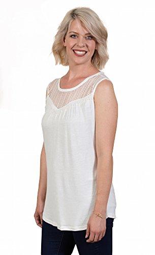 Silk Ruffled Yoke Dress - 1