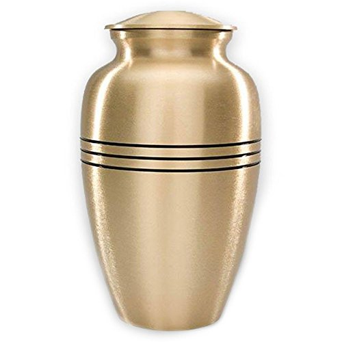 Gold Urn (Beautiful Life Urns Dignity Gold Large Cremation Urn)