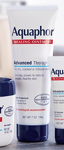 Large Product Image of Aquaphor Advanced Therapy Healing Ointment Skin Protectant 7 Ounce Tube