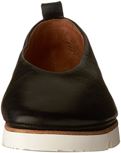 Les Âmes Douces Des Femmes Des Demi Le Slip Sur Les Chaussures Plates De La Plate-forme Noir