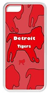 Baseball Detroit Tigers For HTC One M7 Case Cover