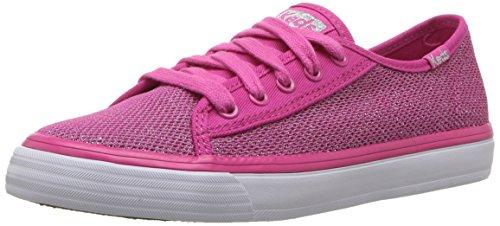 Keds Kids' Double up Sneaker,Pink Mesh,13 Medium US Little Kid