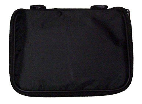 l Pin Bag - 5 Page Black w/Black Piping ()