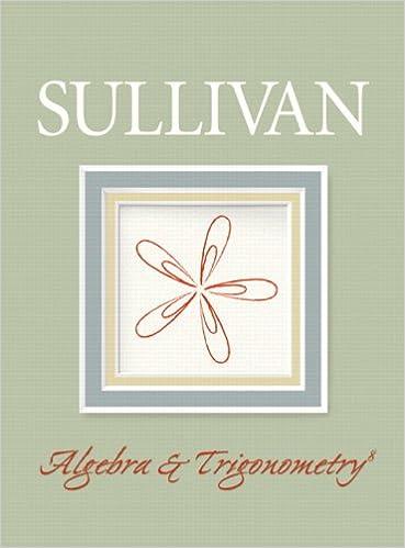 Algebra and trigonometry michael sullivan 9780132329033 amazon algebra and trigonometry 8th edition fandeluxe Images