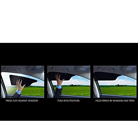 TuckVisor Windshield Sunshade Car Sun Window Shade Visor Shades Sunshade Visors Extender 4 Pack