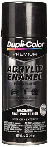 Dupli-Color EPAE11600 Premium Acrylic Enamel Spray Paint (PAE116 Black Stainless Steel 12 oz), 12. Fluid_Ounces