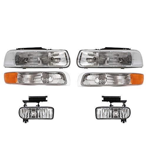 02 silverado headlights - 9