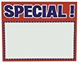 5.5'' x 7'' SPECIAL Sign Card (100)
