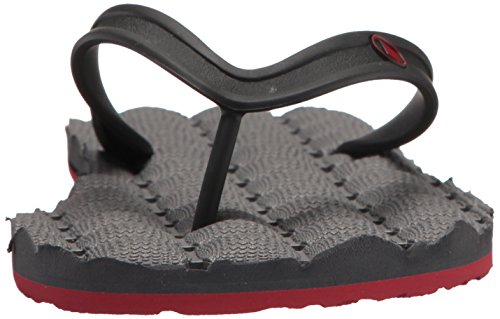 Pewter Volcom Infradito PEWTER RECLINER RUBBER 2 SANDALS qOYTqf