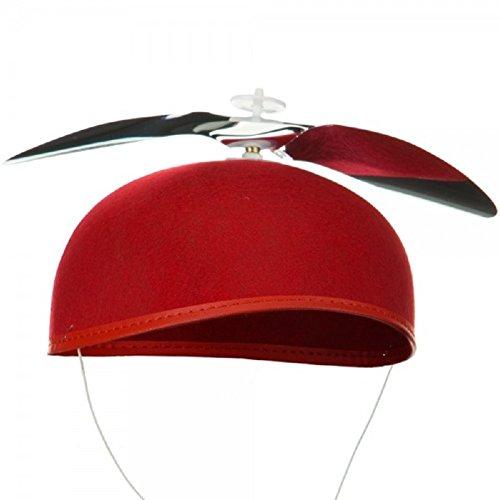Red Propeller Beanie Hat ()