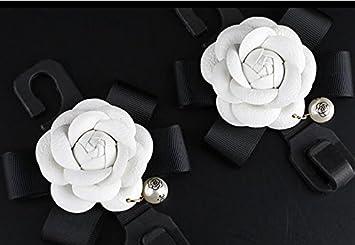 Besplore Car Hand Brake Cover,Beautiful Camellia,Rose Flower