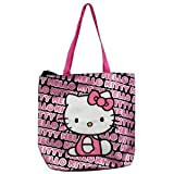 Hello Kitty Tote Bag (Pink Black) For Sale