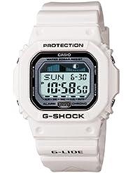 Casio Mens GLX5600-7 G-Shock G-Lide Surfing Watch - white