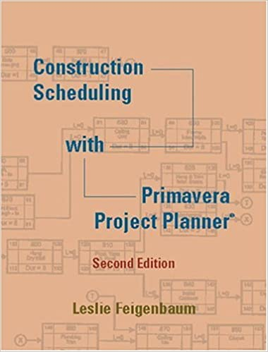 construction scheduling with primavera project planner 2nd edition
