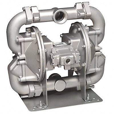 Aluminum Buna Single Double Diaphragm Pump, 140 gpm, 125 psi