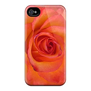 Durable Defender Cases For Iphone 6 Covers(rose Of Fire)