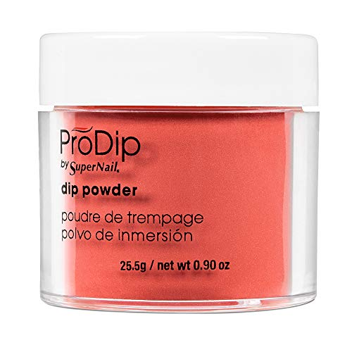 (Supernail Prodip Colored Acrylic Dip, Bright Raspberry, 0.9 Ounce)