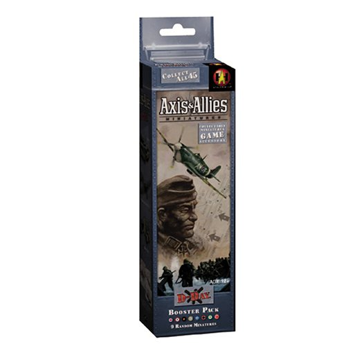 Axis And Allies Miniatures Rules - Axis & Allies Minis Booster D-Day