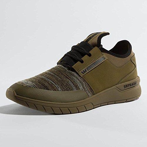 Supra Herren Flow Run Sneaker Olive