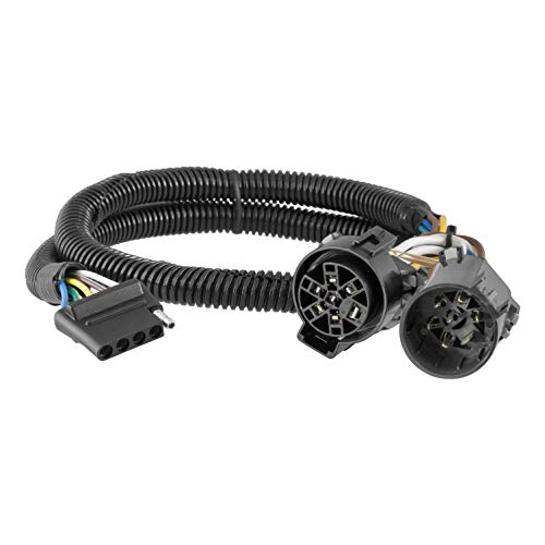 CURT 56584 Replacement Vehicle-Side Custom USCAR 5-Pin Trailer Wiring Harness ()