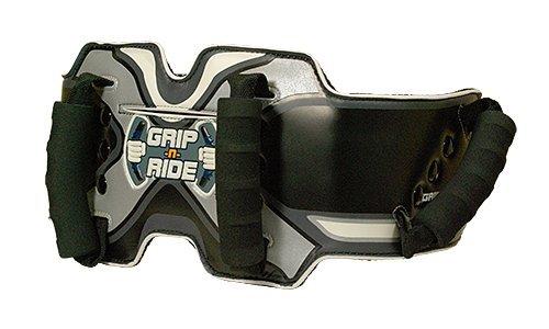 Grip-n-Ride Unisex-Adult Passenger Safety Belt (Black Alternative, One Size)