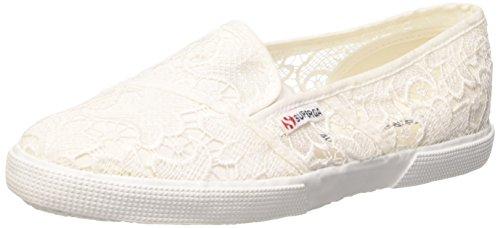 tela de deporte baja de muelle blanca MACRAMEW de 901 2016 2210 V30 blancas zapatillas SUPERGA de COLECCIÓN NUEVA de las zqU8x6KOw