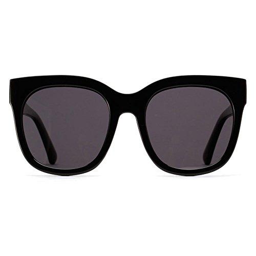 Mujeres Modificadas Gafas Grande Polarizadas De De Colores Marco Retro Black Sol Sol Gafas Gafas Red Sunglasses BUvaYY