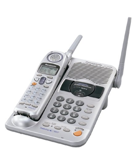 Panasonic KX-TG2238S 2.4 GHz Digital Cordless Phone with Talking Caller ID and Dual (Voice Announce Talking Caller Id)
