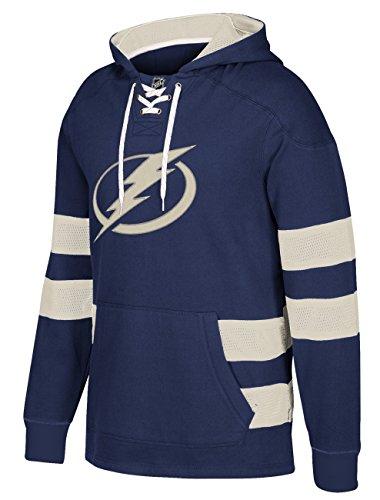 adidas NHL Tampa Bay Lightning CCM Pullover Jersey Hood, Dark Blue, Medium ()