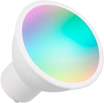 WiFi Smart Bulb RGB+W+C LED Bulb 5W GU10 Dimmable Light Phone APP Remote Control