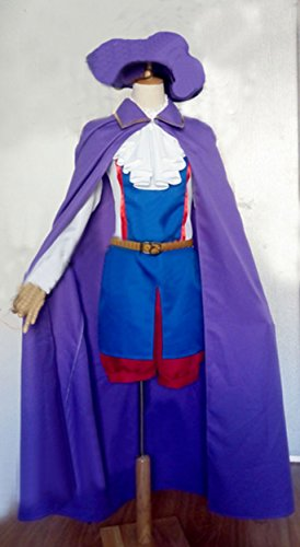 [Relaxcos APH Axis Powers Hetalia France Child Version Uniform Cosplay Costume] (France Costume For Girls)