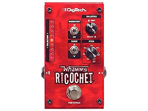 Digitech Mini Guitar Pitch Effect Pedal Red WHAMMY RICOCHET ()