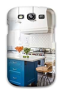 Unique Design Ipad Mini/mini 2 Durable Tpu Case Cover Susan Manrao White Kitchen With Blue Island Sending Screen Protector in Free