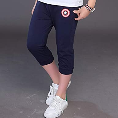 MV Boys Pants Summer Trousers Thin Children Sports Shorts Kids Pants Wear Clothing