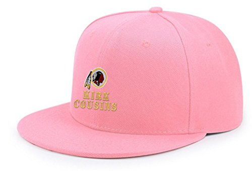 X22X Kirk Favorite Player Cousins Embroidery Adjustable Snapback Baseball Cap Hip Hop Hat Soft Pink