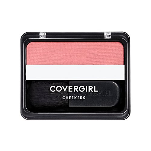 Type Rose Blush (COVERGIRL Cheekers Blendable Powder Blush Rose Silk.12 oz (packaging may vary))