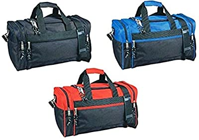 "1 Stop Soccer Referee Medium Duffel Bag 21"" x 10"" x 9"""