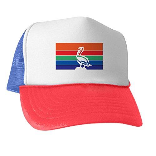 CafePress - ST-PETERSBURG-FLAG - Trucker Hat, Classic Baseball Hat, Unique Trucker Cap (Rectangle Magnet Patriotic)