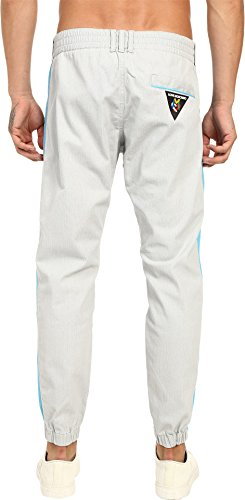 Love Moschino Men's Color Block Jogger, Grey/Azure, 54 X 29 by Love Moschino (Image #2)