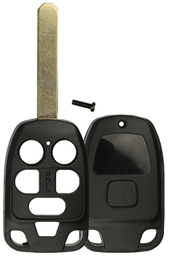 Honda Odyssey Keyless Entry - KeylessOption Just the Case Keyless Entry Remote Head Key Combo Fob Shell