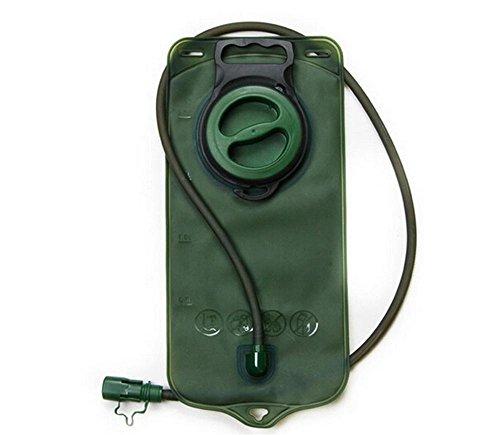 BUSL Outdoor-Reisesporttrinkwasserbeutel 2L kleiner Mund Wasserbeutel Reiten Bergsteigen Taschen