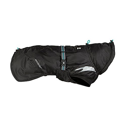 Product image of Hurtta Summit Parka Dog Winter Coat, Raven, 20 in