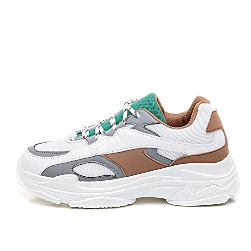 Casual Shoes Breathable Sneakers Fashion Lightweight xiaoyang Women's Running Green Shoes Gym PaOSF1SW
