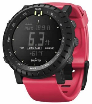 Suunto Core Crush Altimeter Watch Red Crush One Size